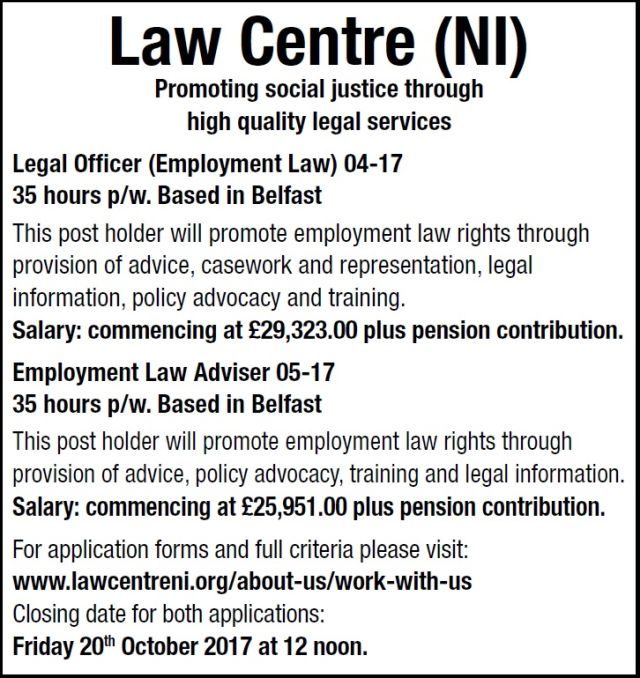 The Law Society Of Northern Ireland