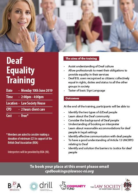 Deaf Equality Training