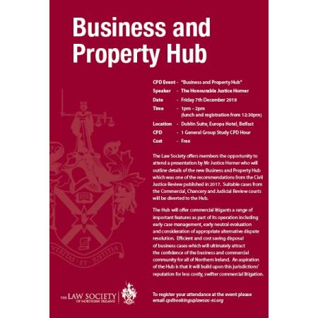 Business and Property Hub CPD Event