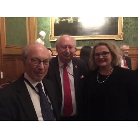 Lord Hope, Simon Horsington,Franco-British Lawyers society and Suzanne Rice, President