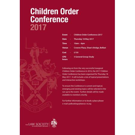 childrens order conference