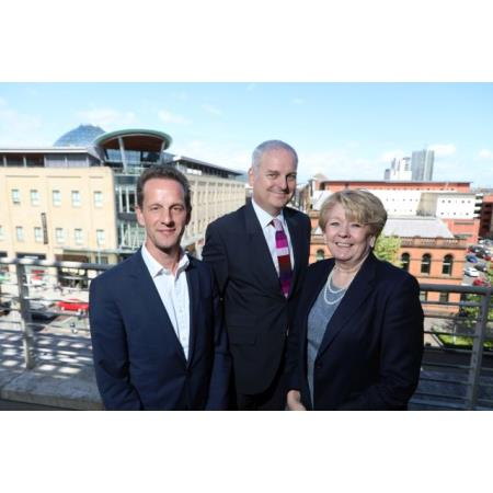 Jago Russell, Chief Executive of Fair Trials, District Judge Peter King & Eileen Ewing President