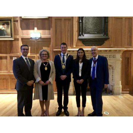President, CEO and JVP joined new Lord Mayor of Belfast & Fordham law students.