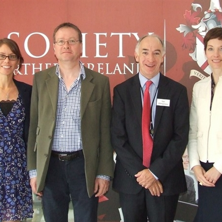 Michelle Lafferty, John Larkin (Attorney General), Ian Wimpress, Pamela McCormick