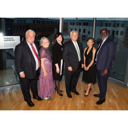 Professor Peter Lyons, Becca Sitterly, Carol Sowers, Mike Kelly, Doris Cheng, Henry Brown