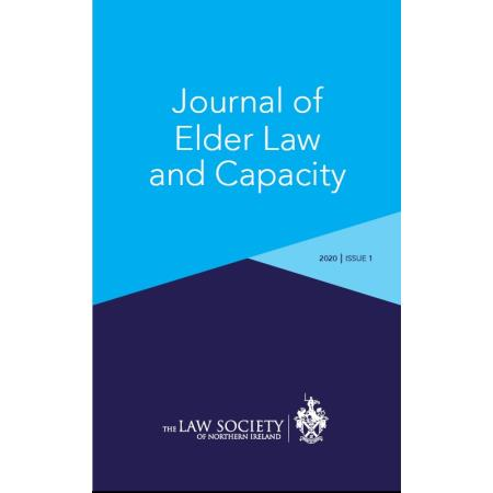 First issue of the Journal of Elder Law and Capacity for 2020