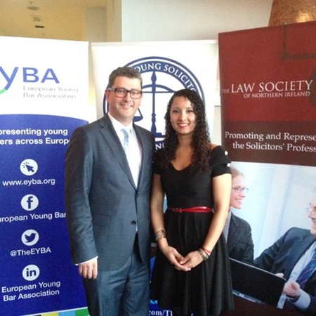President welcomes EYBA to Northern Ireland