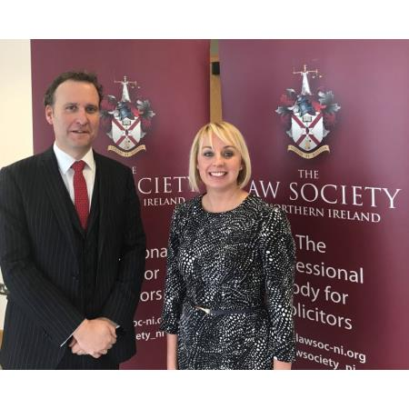 Peter Hopkins BL and Charlene Dempsey Solicitor