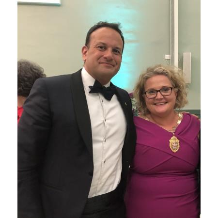Taoiseach Leo Varadkar joined President, Suzanne Rice at the Law Society of Ireland Annual Dinner in Dublin