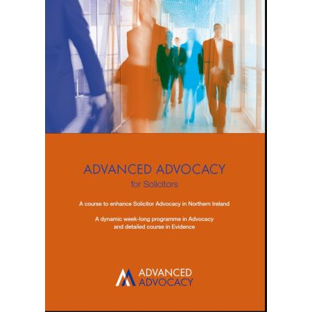 Advanced Advocacy Course