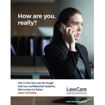 Lawcare here to support