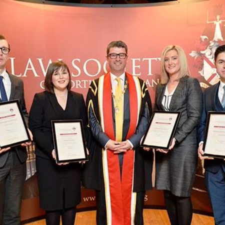 WINNERS OF THE NEWLY ADMITTED SOLICITOR AWARDS