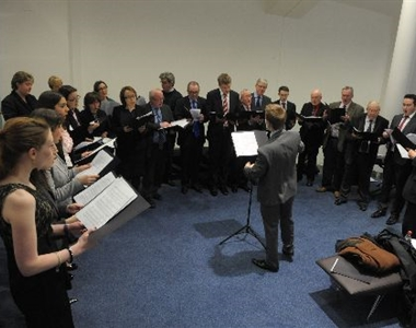 PRO BONO CHOIR RECITAL HITS RIGHT NOTE AT INTERNATIONAL CONFERENCE
