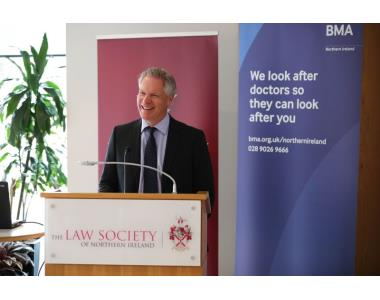 Dr Alan Stout, chair of BMA Northern Ireland's general practice committee