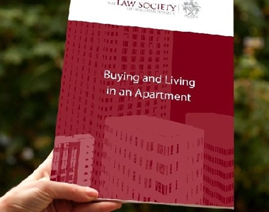 NEW LAW SOCIETY LEAFLET PROVIDES ADVICE TO APARTMENT OWNERS