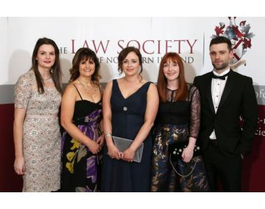 Shauna McLaughlin, Carmel Doherty, Claire McNamee, Stacey George and Jack Balmer