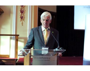 Norville Connolly, IBA representative for Northern Ireland