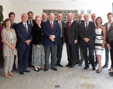 CANADIAN JUDICIARY VISIT LAW SOCIETY HOUSE