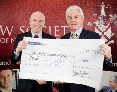 PRACTICE MANAGEMENT WEEK RAISES £1600 FOR SOLICITORS BENEVOLENT FUND
