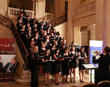 PRO BONO CHOIR HITS RIGHT NOTES AS £7000 RAISED FOR LOCAL CHARITY