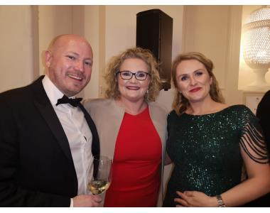 Declan Green, Suzanne Rice, SVP, Sinead Polly