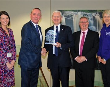 LAW SOCIETY RECOGNISED FOR CHARITY FUNDRAISING EFFORT