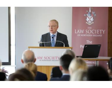 David Lavery CB, Chief Executive of Law Society of Northern Ireland