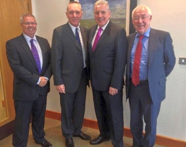 PRESIDENTIAL AND CHIEF EXECUTIVE TEAM MEET SHADOW SECRETARY OF STATE
