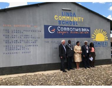 Opening of Linda community school