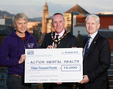 LAW SOCIETY RAISES £15,000 FOR ACTION MENTAL HEALTH