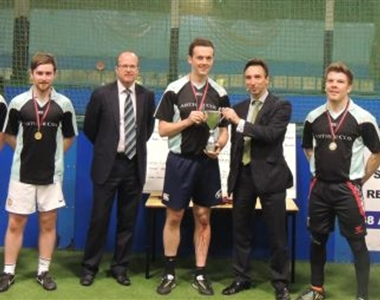 ARTHUR COX FOOTBALL TEAM WIN CHARITY CUP