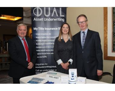 Gary Mills from Blue Chip Title, Kirsten Nee from Duel Asset Underwriting and Derek Young from Blue Chip Title