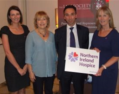 LAW SOCIETY RAISES £1000 FOR NI HOSPICE