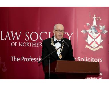 Rowan White, President of the Law Society of Northern Ireland