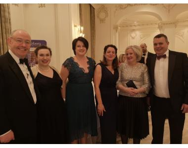 Philip Gilliland, Roisin Kerr, Nicola Burns, Karen O'Leary, Deiddre Kennedy, Declan Burns