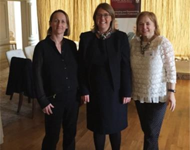 Women in the Law event attended by 40 lawyers contributions- Niamh Sheilds, Hon Mrs Justice Keegan, Imelda McMillan