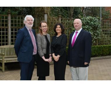 The Society's Deputy CEO, Peter O'Brien, joined Clare Bates @carsonmcdowell & Fiona Donnelly, EU Project Coordinator & Eoin O'Dell academic & lawyer.