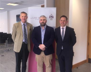 Mr Robert Wheeler, Consultant Neonatal and Paediatric Surgeon, Mr Phillip O'Connor, Consultant in Accident & Emergency And Intensive Care Medicine, Paddy Mullarkey, Partner, O'Reilly Stewart