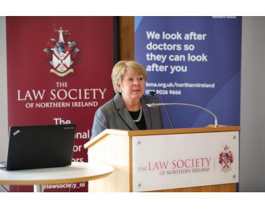 Eileen Ewing, Senior Vice President of Law Soicety of Northern Ireland