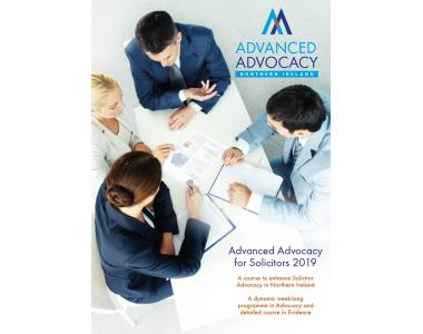 advanced Advocacy 2019
