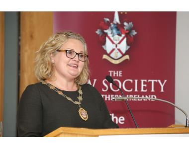 Suzanne Rice, President of the Law Society of Northern Ireland