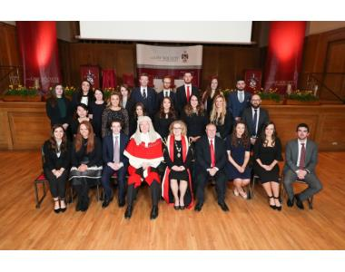 Newly Admitted Solicitors Group 3