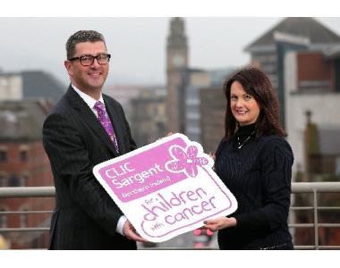 John Guerin, President & Nadine Campbell, Clic Sargent