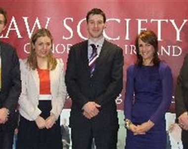 SOLICITORS' APPRENTICES SET FOR INTERNATIONAL COMPETITION'