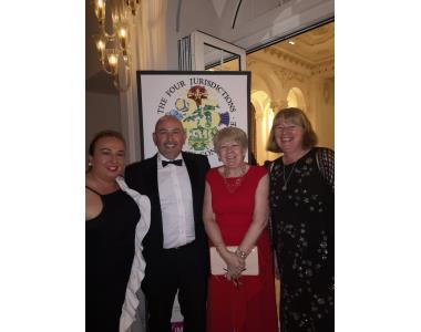 Lorraine Keown, District Judge Stephen Keown, Eileen Ewing and Fiona Oliver