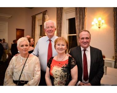 Fiona Holmes, District Judge Greg Mc Court, Mrs Sheila Mc Court, Chris Holmes BL