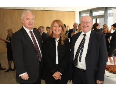 Lord Chief Justice, Sir Declan Morgan, Linda Robinson BL, Michael Long QC