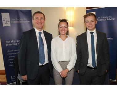 Law Society (NI) Financial Advice team for exhibiting at the Conveyancing Conference 2019